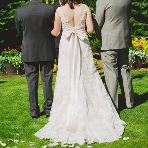 Allure Bridals 8634 - Champagne / Ivory